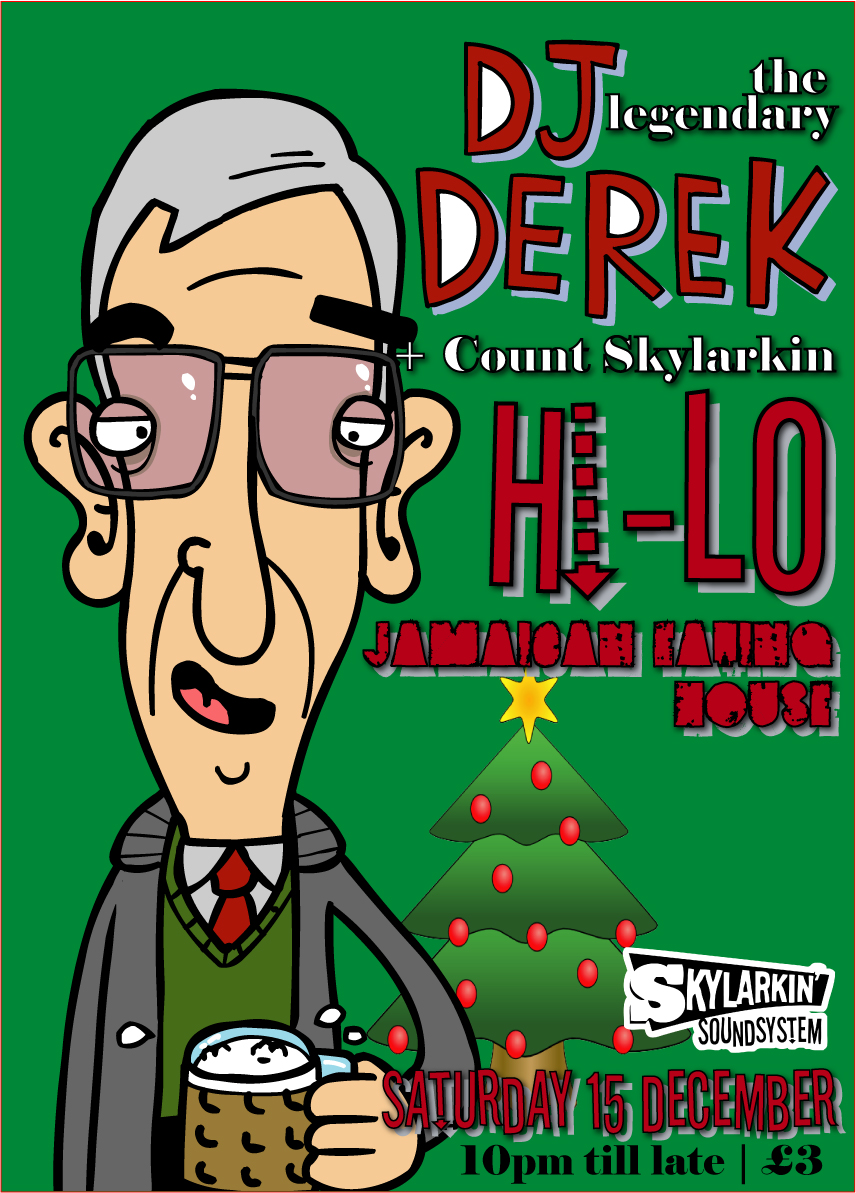DJ Derek at the Hi-Lo Jamaican Eating House | Skylarkin' Soundsystem